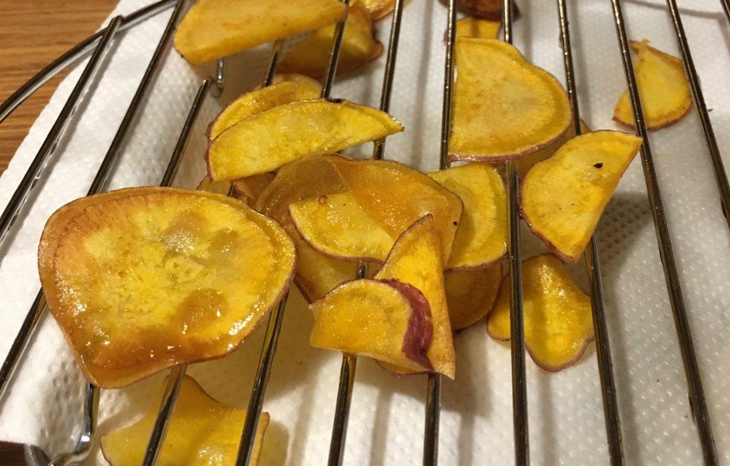 安納芋のサツマイモチップス